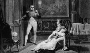 Divorcio de Napoleón y Josefina.